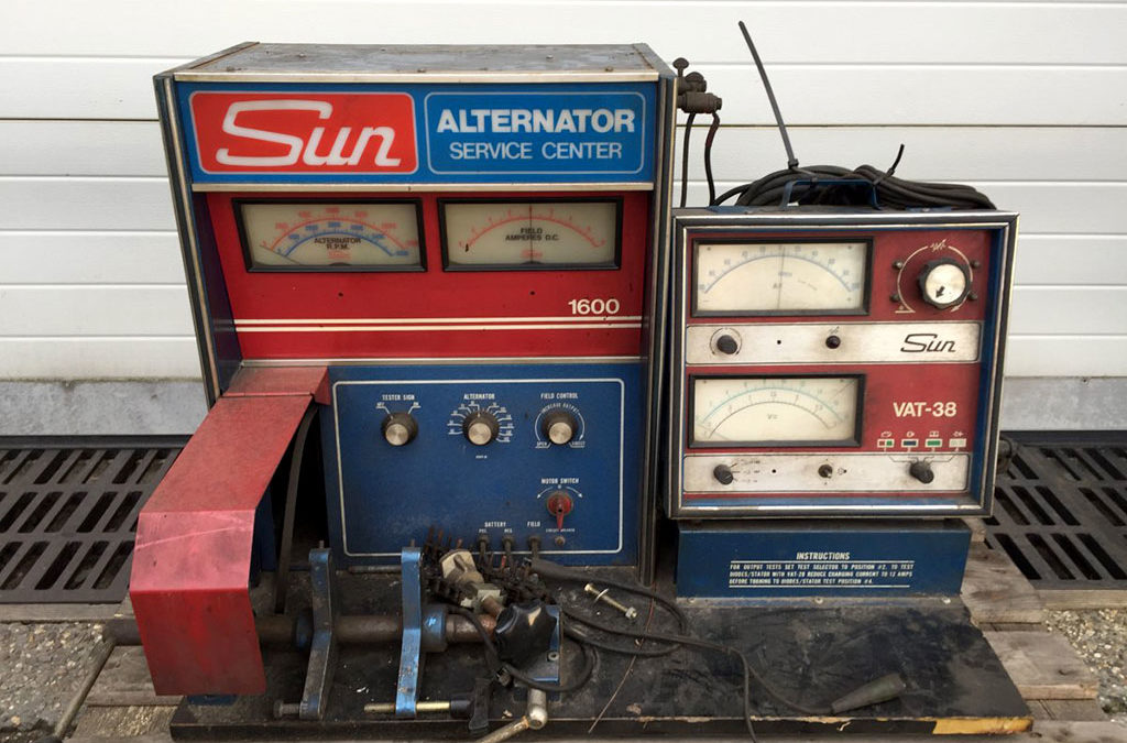 Sun VAT38 Alternator tester